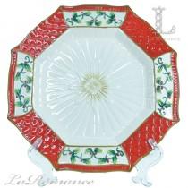 【義大利 Palais Royal 聖誕系列】聖誕八角盤
