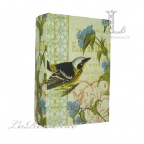 【英國 Mindy Brownes】歐式鳥語花香造型書盒 A