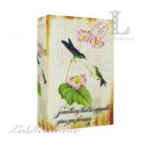 【英國 Mindy Brownes】歐式鳥語花香造型書盒 D
