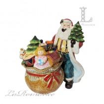 【義大利 Palais Royal 聖誕系列】聖誕老公公餅乾罐