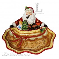 【Palais Royal 聖誕系列】義大利 聖誕老公公大盤
