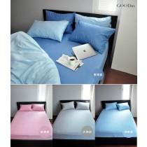 【GOODin】3.5尺單人床包TWIN (105*186*38cm) 竹棉纖維兩用防水保潔墊