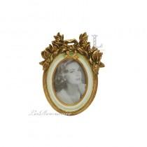 【芮洛蔓 La Romance】金色年華特價系列 - 花之物語橢圓小相框
