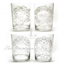 【Creative Home】Casual Country 美式鄉村系列古典圖騰玻璃杯 (共四款)