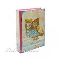 【Creative Home】Nikky Home 貓頭鷹系列書盒 - 紅