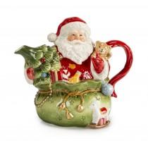 【義大利 Palais Royal 聖誕系列 】聖誕老公公茶壺