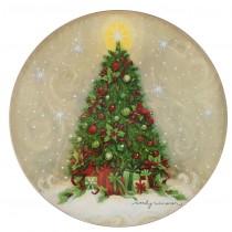 【義大利 Palais Royal 聖誕系列】聖誕大樹圓盤