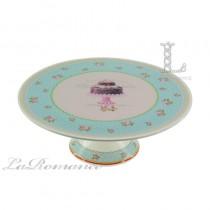 【芮洛蔓 La Romance】義大利 Lamart - 夢幻甜點系列11吋高腳蛋糕盤