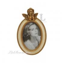 【芮洛蔓 La Romance】金色年華特價系列 - 天使橢圓相框