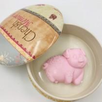 【依蓓❤私密處專用 】粉紅豬甜橙精油ㄇㄟㄇㄟ皂