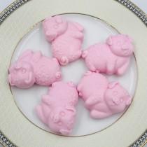 【依蓓❤私密處專用 】粉紅豬甜橙精油ㄇㄟㄇㄟ皂 - 10入
