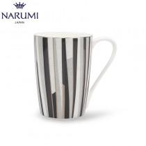 【日本NARUMI】Shagreen Mug 多條紋骨瓷馬克杯一入 (兩色可選)