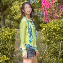 【EYWA】陽光美肌防曬四件組 - 連帽款
