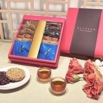 【Elitfun E立方】《茶暖米香》禮盒 - 嚴選台灣優質米香、茶葉伴手禮