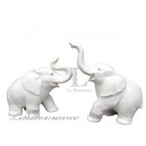 【芮洛蔓 La Romance】COCORO 兒童家飾 - 情侶大象