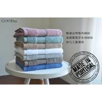 【GOODin】葡萄牙 FineSpun 精紡紗毛巾 (40 * 70 cm)