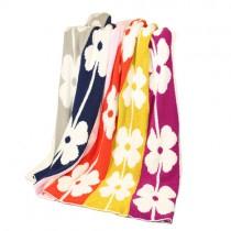【 PHOEVER 鵝絨工坊】花朵雙面加厚舒柔保暖毯