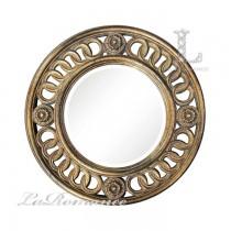 【英國 Mindy Brownes】鏤空做舊圓鏡