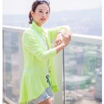 【EYWA】陽光美肌防曬外套 設計款綠