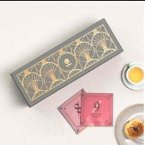 【Elitfun E立方】數字茶三盒入法式珠寶燙金禮盒