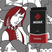 【義大利 MOAK】Brasilea 紅牌豆