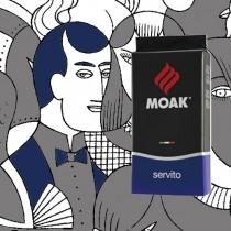 【義大利 MOAK】Servito 藍牌豆