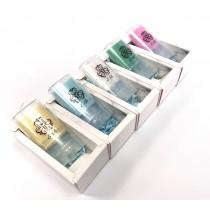 【依蓓】馬卡龍精油潔手皂5入 - 灰白大理石紋禮盒裝