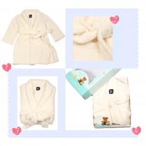 【 PHOEVER 鵝絨工坊】抗敏保暖兒童睡袍/浴袍