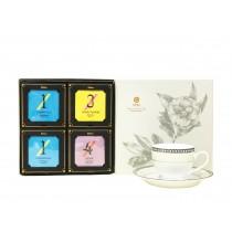 【Elitfun E立方】數字茶包任選4入牡丹禮盒組 附提袋